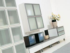 Jour Lara, Système modulaire pour les salles de séjour, dans un design élégant