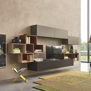 Lampo L5C23, Mur modulaire pour le salon