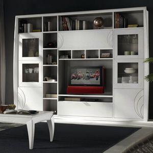 Luna LUNA5035, Armoire modulaire pour salon
