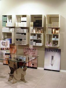 Overtime Shopping, Unités de stockage de mur, en acier laminé, idéal pour les magasins et parfumeries