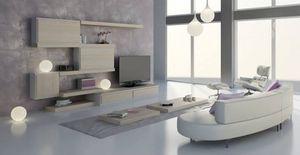Salon 24, Meubles modulaires pour le salon, design contemporain, des finitions et des éléments personnalisables