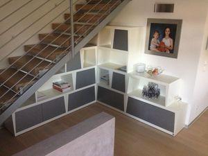 Silver, Mobilier modulaire adapté pour les salles de vie