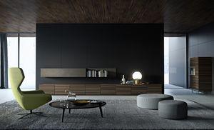 STRIPE cabinet comp.03, Armoire basse pour salon, modulaire