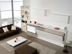 Surf LS441, Meubles de salon, avec lit escamotable