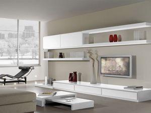 Systèmes jour 16, Système modulaire pour la salle de séjour avec un style moderne