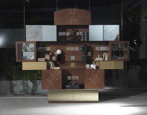 VL29 Klimt meuble, Meubles de salon avec miroirs, à prix outlet