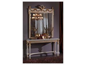 3425 MIROIR, Miroir rectangulaire classique, style Louis XVI