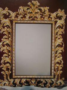 Art. 101G, Miroir avec cadre, luxe classique, style '700 Tuscan
