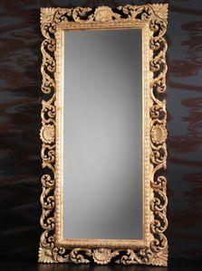 Art. 19560, Miroir en bois sculpté de luxe classique