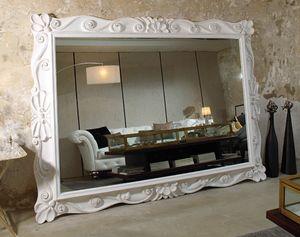 Art. 20930, Grand miroir avec cadre sculpté