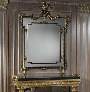 Art. 2095 miroir, Miroir rectangulaire avec cadre sculpté