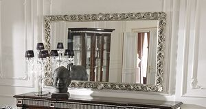 ART. 2754, Miroir avec cadre avec bordure en argent