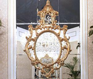 ART. 3035, Miroir classique avec des décorations