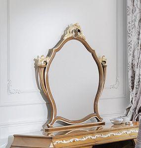 ART. 3053, Miroir classique en noyer