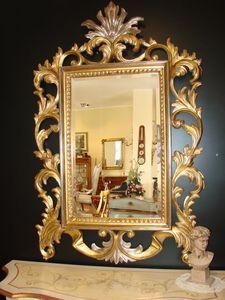 Art. 400, Miroir classique avec finition or, pour la maison