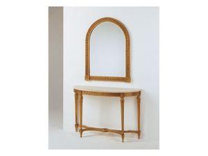 Art. 700/S, Miroir en bois sculpté, pour classique salon