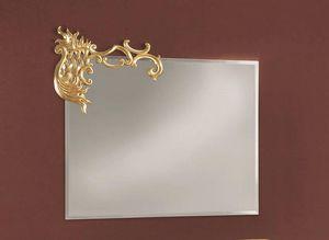 Art. 715, Miroir rectangulaire avec détail sur un coin