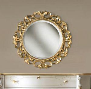 Art. 805, Miroir rond en or