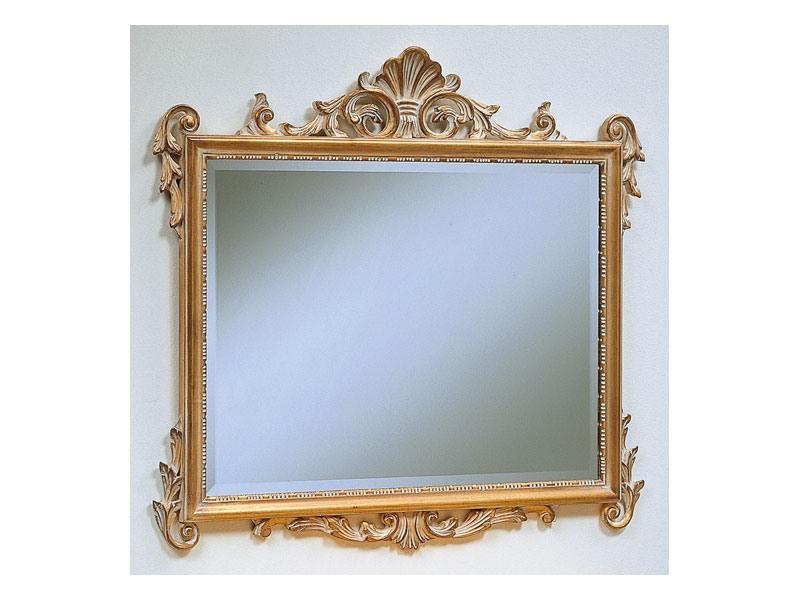 Art. 811, Miroir classique de luxe, finition décapé, pour les hôtels