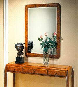 Art Déco Art.550 miroir, Miroir en verre biseauté