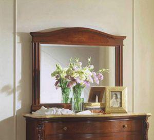 Canova miroir, Miroir rectangulaire classique avec verre d�poli