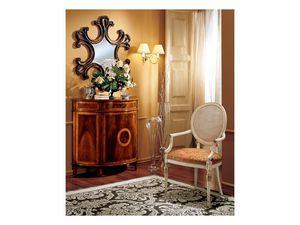 Complements mirror 862, Miroir mural avec cadre en bois d�cor�e