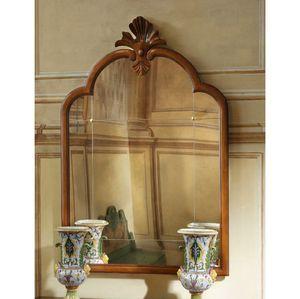 Courbet RA.0835, Petit miroir à panneau Vénétie de style XVIIIe siècle