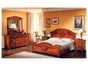 DUCALE DUCSPG / grand miroir, Miroir pour les chambres avec cadre en bois