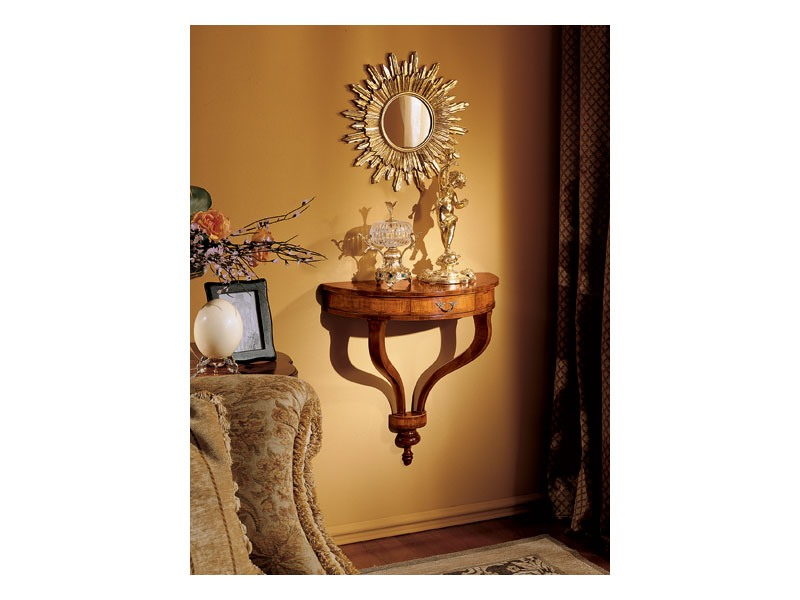 Emanuela mirror, Miroir mural avec la forme de soleil