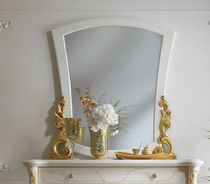 Fenice Art. 1311, Miroir avec cadre sculpté