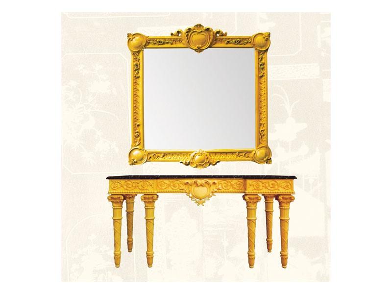 Frame art. 100, Cadre en bois de tilleul, de style classique