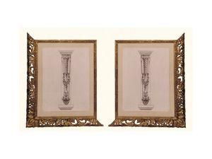 Frame art. 102, Cadre en bois de tilleul, de style vénitien