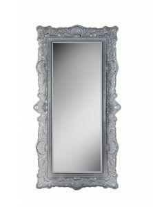 Louvre miroir, Miroir de style avec cadre en verre