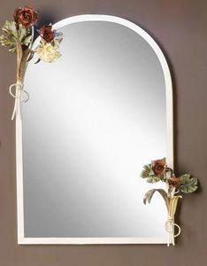 SP.8055, Miroir avec cadre avec des décorations florales