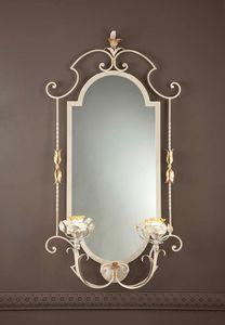 SP.8425/2/G, Miroir classique avec lumières intégrées