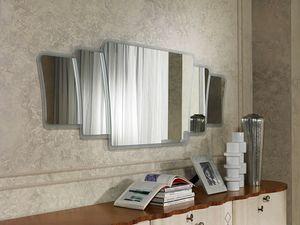 SP33 Mistral miroir, Miroir avec cadre dans un style contemporain