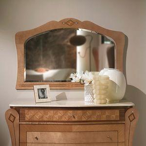 SP35 Charme miroir, Miroir avec cadre incrust�