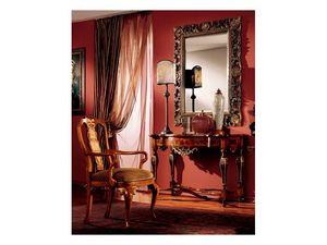 Venezia mirror 832, Miroir avec cadre sculpt� � la main