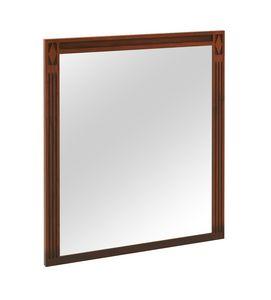Villa Borghese miroir 9376, Miroir avec cadre en bois, style directoire