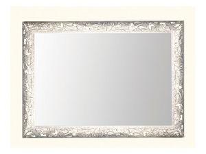 Wall Mirror art. 104, Miroir avec cadre en bois d�cor� de feuilles de vigne