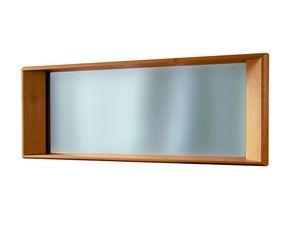 '900 5415, Miroir avec cadre en bois sculpté