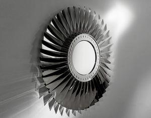 AIR-MIR0172, Miroir fabriqué avec des pièces d'avion