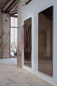 ALICANTE, Miroir rectangulaire, avec cintre intégré, pour l'entrée