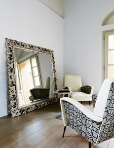 Amal 271, Miroir classique avec cadre sculpt�