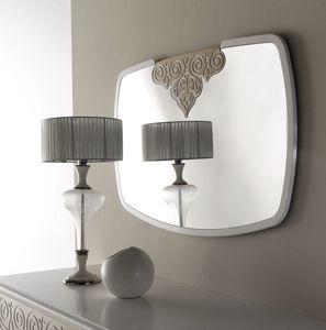 AN 723 A, Miroir avec cadre blanc