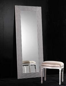 Art. 20302, Miroir rectangulaire avec cadre en bois