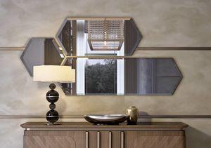 Art. 5001, Composition de miroirs avec cadre en bois