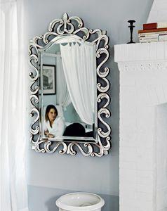 Asah 205, Miroir avec cadre sculpt�