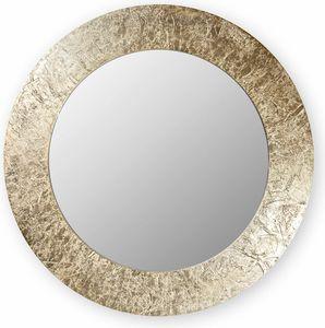 Asia round, Miroir avec cadre rond