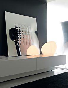 Boccaccio 364, Miroir avec miroirs décoratifs